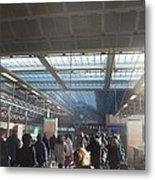 London Train Station Metal Print