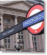 London Underground 1 Metal Print