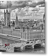 London Westminster Metal Print