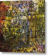 London, Westminster Pen & Ink With Wc On Paper Metal Print