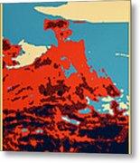 Lone Cypress Poster Metal Print