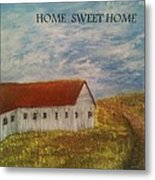 Lone Home Metal Print