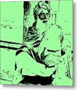 Loneliness And The Old Age Metal Print