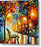 Loneliness Of Autumn Metal Print