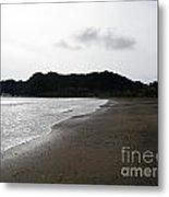 Lonely Beach In Costa Rica Metal Print