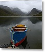 Lonely Boat Metal Print