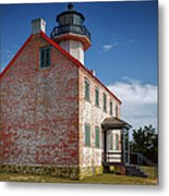 Lonely East Point Lighthouse Metal Print