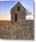 Lonely Homestead Metal Print