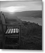 Lonely In The Waiting   Metal Print