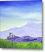 Lonely Mountain Metal Print