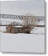 Lonely On The Prairie Metal Print