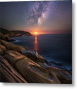 Lonely Planet Metal Print