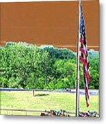 Lonestar Park - Backstretch - Photopower 2204 Metal Print
