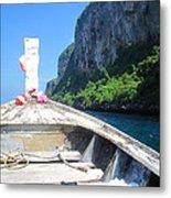 Long Boat Tour - Phi Phi Island - 0113157 Metal Print