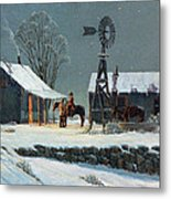 Long Day's End Metal Print