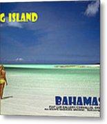 Long Island Bahamas Metal Print