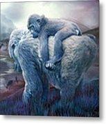 Silverback Gorilla - Long Journey Home Metal Print