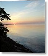 Long Key Sunrise Metal Print