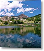 Long Lake Beartooth Pass Metal Print