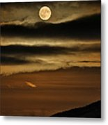 Long Nights Moon Metal Print