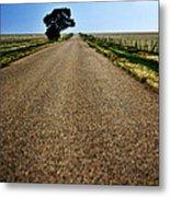 Long Road Metal Print