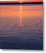 Long Sunset Metal Print