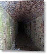 long tunnel in Ft Adams Metal Print