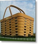 Longaberger Basket Company Nf Metal Print