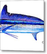 Longbill Spearfish Metal Print