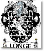 Longe Coat Of Arms Irish Metal Print