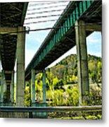 Longest Bridges In Vermont Metal Print