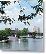 Longfellow From Lagoon Metal Print