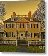 Longfellow House-cambridge Boston Metal Print