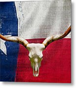 Longhorn Of Texas 2 Metal Print