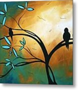 Longing By Madart Metal Print