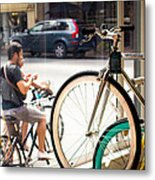 Longing To Go For A Ride Metal Print
