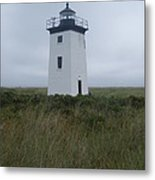 Longpoint Lighthouse Metal Print