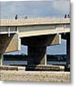 Longport Bridge Metal Print