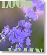 Look Again Metal Print