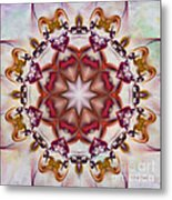 Look Into The Center Metal Print