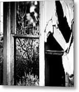 Look Out The Window There Beauty Is Metal Print