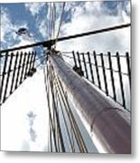 Look Way Up Metal Print
