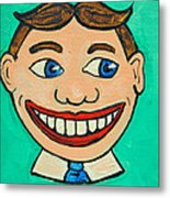 Lookin Right Tillie Metal Print