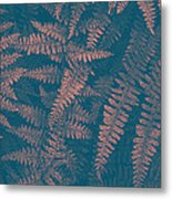 Looking At Ferns Another Way Metal Print