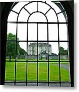 Looking At Portumna Castle Metal Print