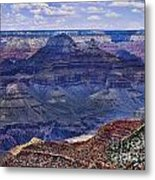 Looking Down On Blue Mountains Metal Print