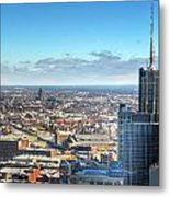 Looking East...the Rand Building Winter 2013 Metal Print