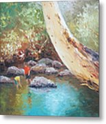 Looking For Tad Poles Metal Print