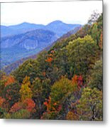 Looking Glass Rock And Fall Colors Metal Print