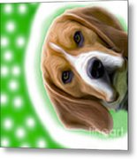 Looking Good Dog Metal Print by Jo Collins